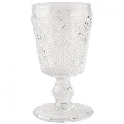 Katie Alice - sklenice Clear Goblet 16 cm