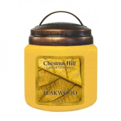 Chestnut Hill - vonná svíčka Teakwood (Teakové dřevo) 454g