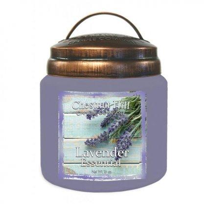 Chestnut Hill - vonná svíčka Lavender Essential (Levandule) 454g
