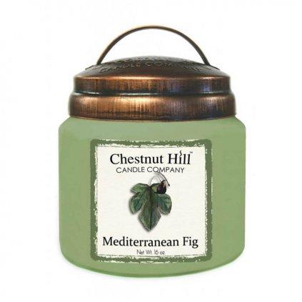 Chestnut Hill - vonná svíčka Mediterranean Fig (Středomořský fík) 454g