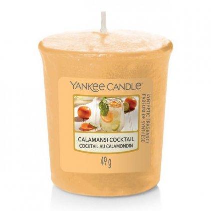 Yankee Candle - votivní svíčka Calamansi Cocktail (Koktejl z calamondinu) 49g