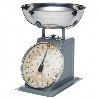 Kitchen Craft - kuchyňská váha Industrial Kitchen, šedá