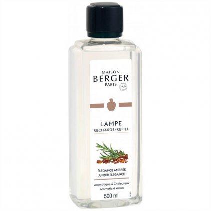 Maison Berger Paris - interiérový parfém Amber Elegance (Zářivá elegance) 500 ml