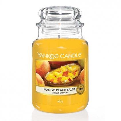 yankee candle mango peach salsa velka svicka
