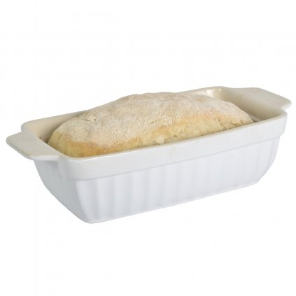 Ib Laursen - keramická zapékací mísa na chléb Mynte Pure White