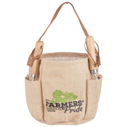 Esschert Design - jutová zahradní brašna Farmers Pride