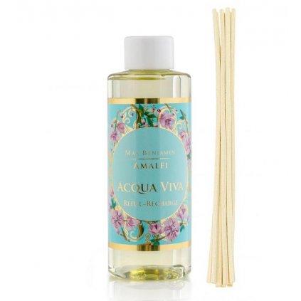 Max Benjamin - náplň do aroma difuzéru Acqua Viva (Živá voda) 150 ml