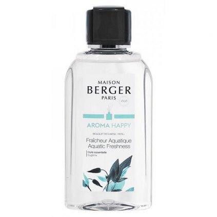 Maison Berger Paris - náplň do difuzéru Aquatic Freshness (Svěžest vody) 200 ml