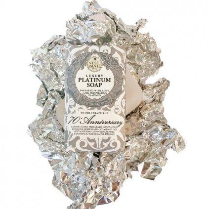Nesti Dante - přírodní mýdlo Luxury Platinum 250g