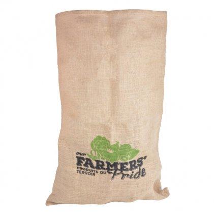 Esschert Design - jutová taška skladovací Farmers Pride