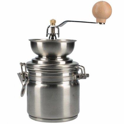 La Cafetiére - ruční nerezový mlýnek na zrnkovou kávu Origins