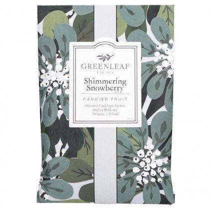 Greenleaf - vonný sáček Shimmering Snowberry 115 ml