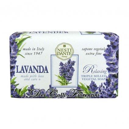 Nesti Dante - přírodní mýdlo Lavanda Relaxing 250g