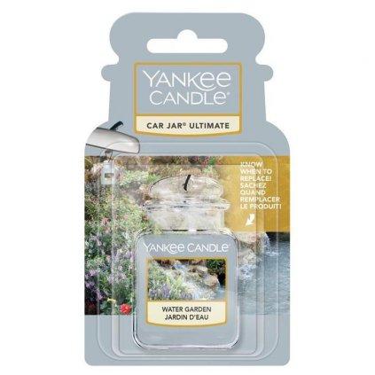 Yankee Candle - gelová visačka do auta Water Garden (Zahradní potůček) 1 ks
