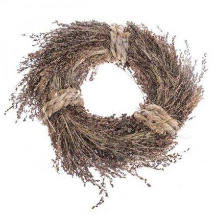 Věnec vánoční čirokový, 30 cm