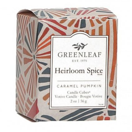 Greenleaf - votivní svíčka Heirloom Spice 56g