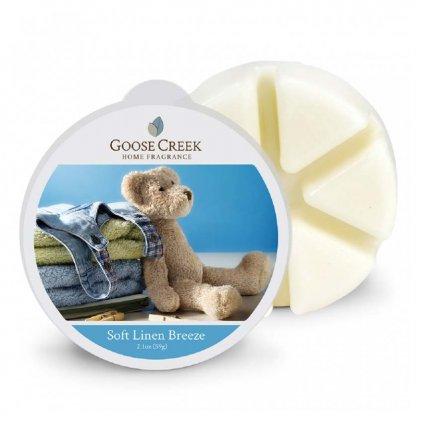 Goose Creek - vonný vosk Soft Linen Breeze (Hebký vánek) 59g
