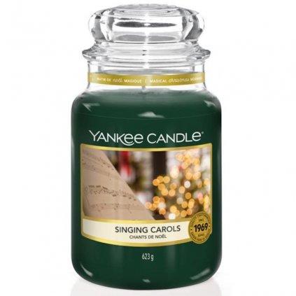 Yankee Candle - vonná svíčka Singing Carols (Zpívání koled) 623g