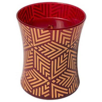 WoodWick - vonná svíčka Crimson Berries (Červená jeřabina), limitovaná edice 275g