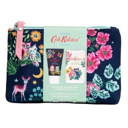 Heathcote & Ivory - dárková kosmetická taška (krém na ruce 30 ml + dezinfekce 15 ml) Magical Woodland