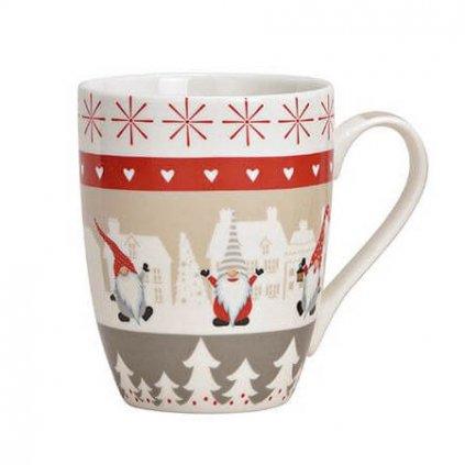 G.Wurm - porcelánový hrnek vánoční 340 ml