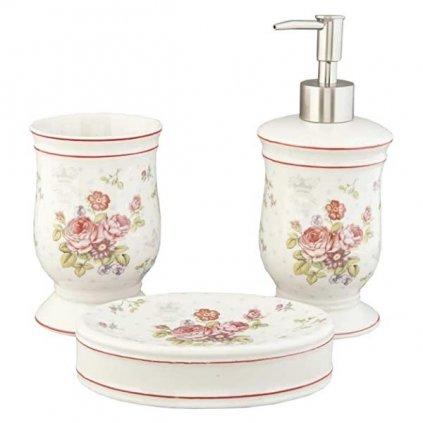 Clayre & Eef - koupelnová sada Roses
