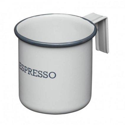 Kitchen Craft - hrnek na espresso Living Nostalgia 75 ml, šedý