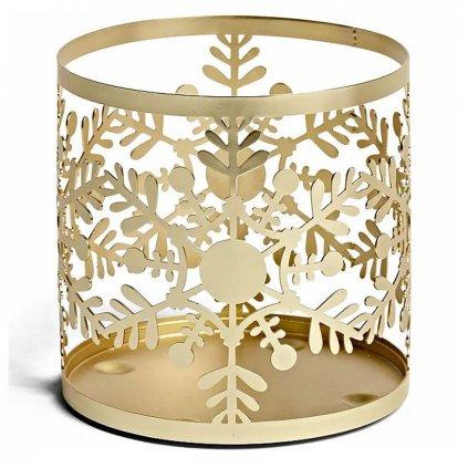 Yankee Candle - Snowflake Frost svícen na svíčku Classic