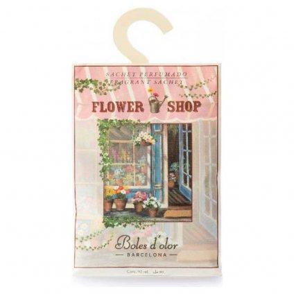 Boles d'olor - vonný sáček Flower Shop (Květinářství) 90 ml