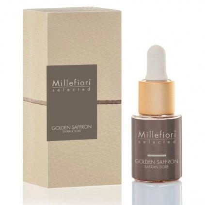 Millefiori Milano - esenciální olej Golden Saffron (Zlatý šafrán) 15 ml