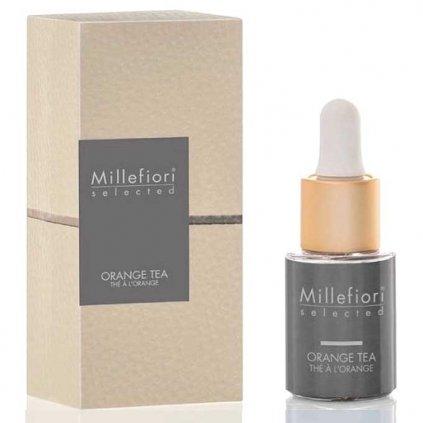 Millefiori Milano - esenciální olej Orange Tea (Pomerančový čaj) 15 ml
