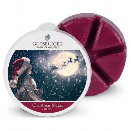 Goose Creek - vonný vosk Christmas Magic (Kouzlo Vánoc) 59g