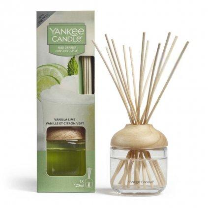 Yankee Candle - aroma difuzér Vanilla Lime (Vanilka s limetou) 120 ml
