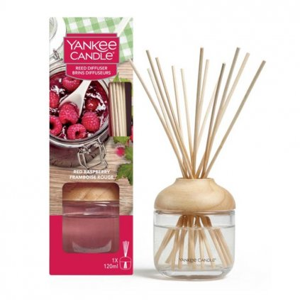 Yankee Candle - aroma difuzér Red Raspberry (Červená malina) 120 ml