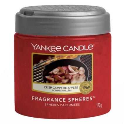 Yankee Candle - Spheres vonné perly Crisp Campfire Apples (Jablka pečená na ohni) 170g