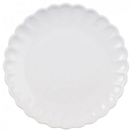 Ib Laursen - keramický talíř Mynte Pure White 20 cm