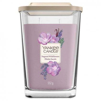 Yankee Candle Elevation - vonná svíčka Sugared Wildflowers (Cukrové divoké květy) 552g