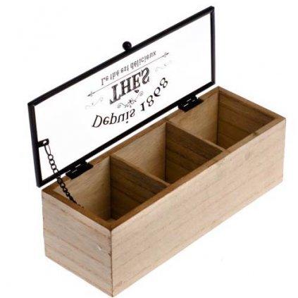 Casa de Engel - dřevěná krabička na čaj