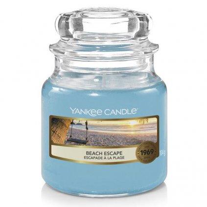 Yankee Candle - vonná svíčka Beach Escape (Únik na pláž) 104g