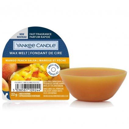 Yankee Candle - vonný vosk Mango Peach Salsa (Salsa zmanga a broskví) 22g
