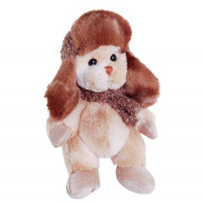 Bukowski - plyšový medvídek rezavý v ušance Charlie, 18 cm