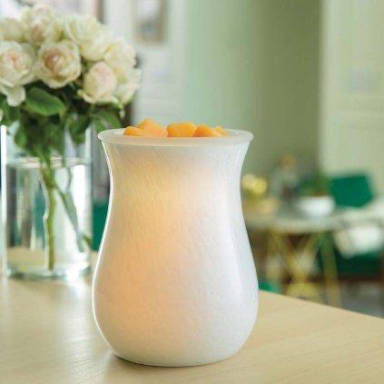 Candle Warmers - elektrická aromalampa Glass Illumination Moonstone