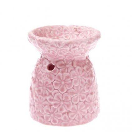 Casa de Engel - aromalampa s kvítky, růžová malá
