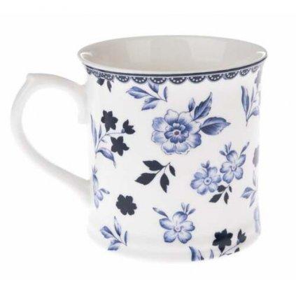 Casa de Engel - porcelánový hrnek s květinkovým vzorem 400 ml