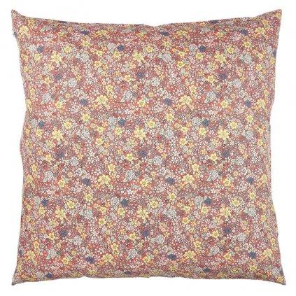 Ib Laursen - povlak na polštář s květinovým vzorem 60x60 cm