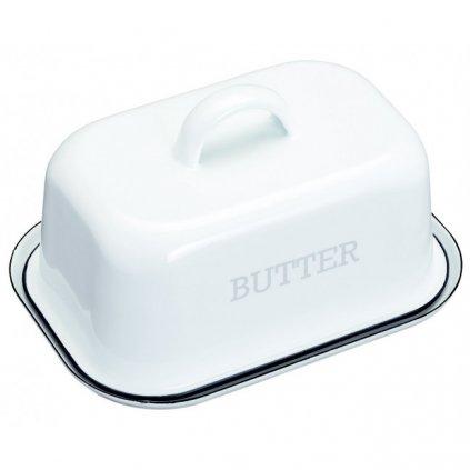Kitchen Craft - smaltovaná dóza na máslo Living Nostalgia