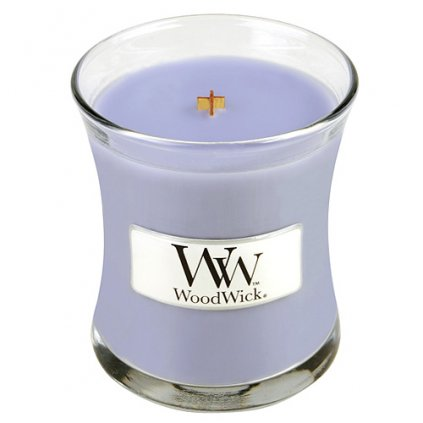 WoodWick - vonná svíčka Levandulová lázeň 85g