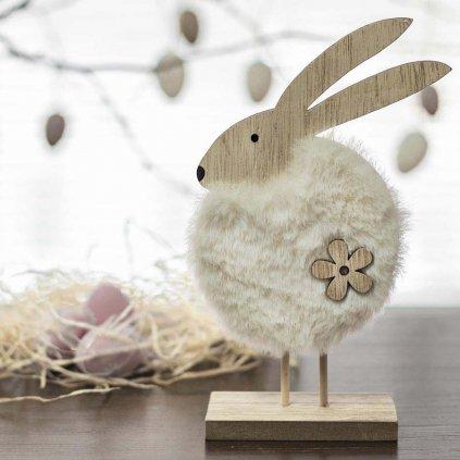 Velikonoční zajíček, dřevěná dekorace, různé velikosti