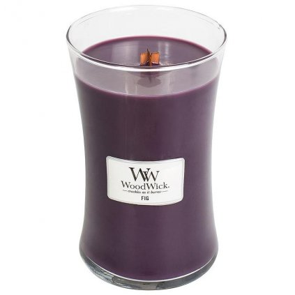 WoodWick - vonná svíčka Fig (Fík) 609g