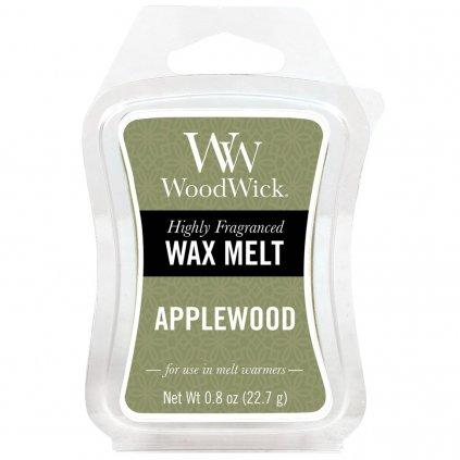 WoodWick - vonný vosk Applewood (Jabloňové dřevo) 23g